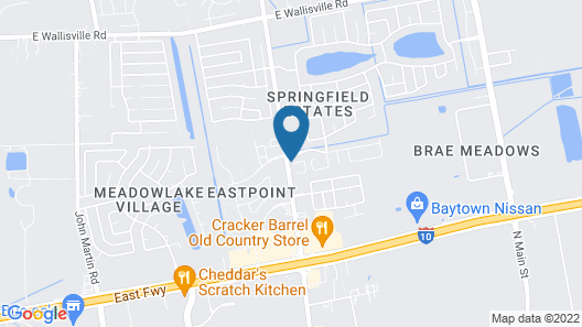 Staybridge Suites Houston East - Baytown Map