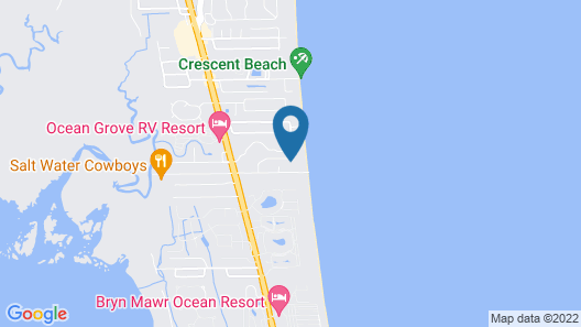 Direct Oceanfront, Upgraded, 3 BR, Large Balcony - Anastasia 407 Map