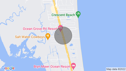 St Augustine Ocean Village Club Condo.Beach Community! Pet Friendly Heated Pool<br> Map