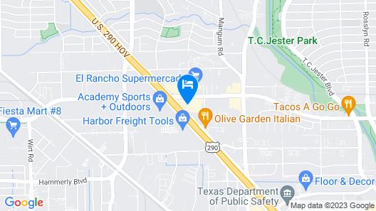 La Quinta Inn & Suites by Wyndham Houston NW Brookhollow Map