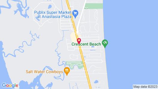Americas Best Value Inn Ocean Inn Map