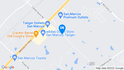 La Quinta Inn & Suites by Wyndham San Marcos Outlet Mall Map