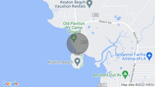 Doctor's Rx: Go Fish in Keaton Beach! Map