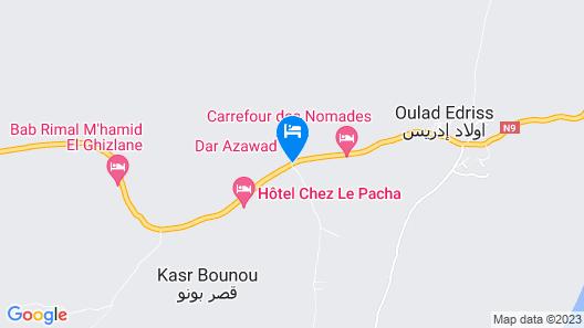 Aladdin Camp Map