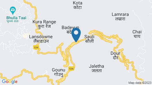 Blue Pine Resort Map
