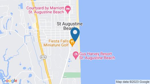 Beachfront Bed & Breakfast Map