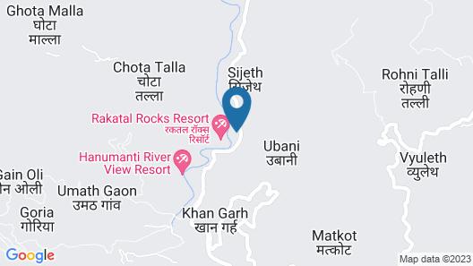 Rakatal Rocks Resort Map