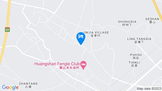 Huangshan Huizhou Creek Villa Map