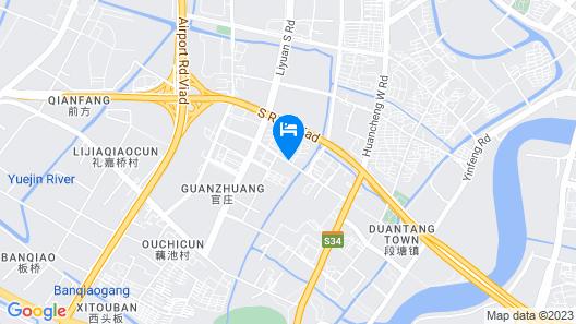 Motel 168 Ningbo Shunde Road Map