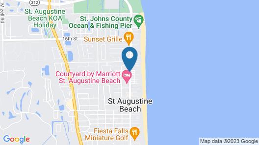 Best Western St. Augustine Beach Inn Map