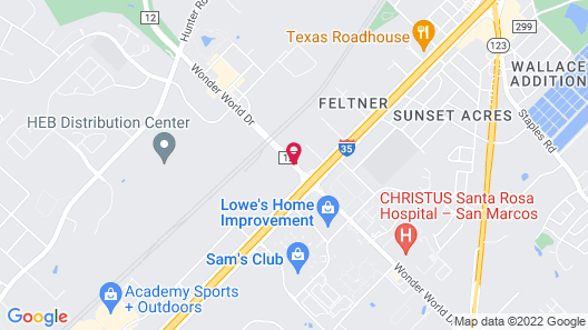 Candlewood Suites San Marcos Map