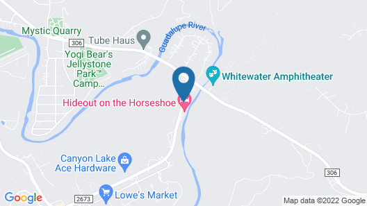 Hideout on the Horseshoe Map
