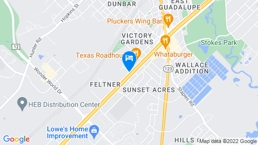 Country Inn & Suites by Radisson, San Marcos, TX Map