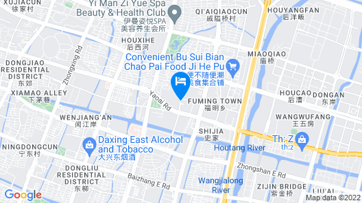 Greentree Inn Zhejiang Ningbo East Bus Station Express Hotel Map