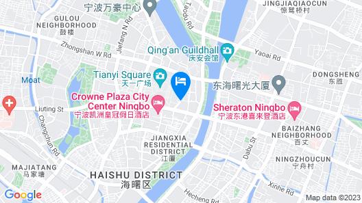 Yousu Hotel&Apt Yinyi Global Center Map