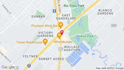 Hampton Inn & Suites San Marcos Map