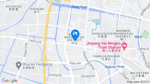 Howard Johnson Shipu Plaza Ningbo Map