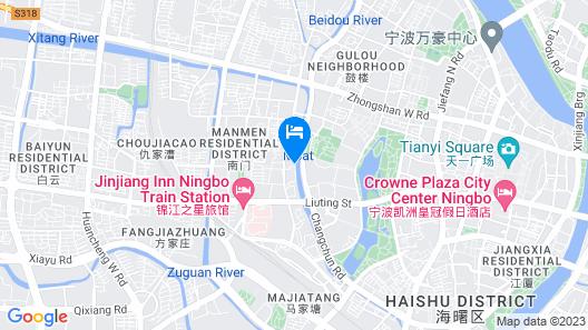 Ning Bo Hotel Map