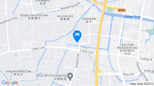 Zhe Hai Grand Hotel Map