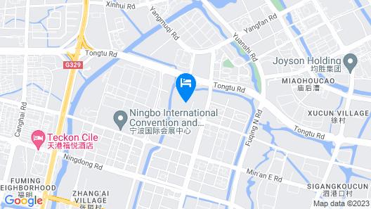 Pan Pacific Ningbo Map