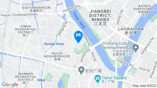Ningbo Marriott Hotel Map
