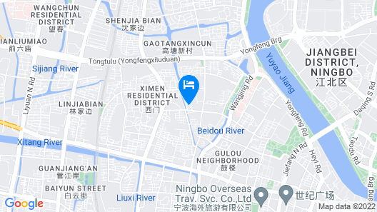 Ningbo Sunny Hotel Map