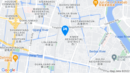 Century Shengye Hotel Map