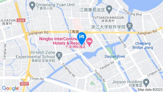 InterContinental Ningbo Map