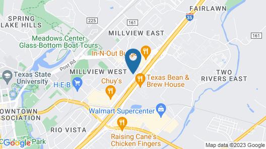 Motel 6 San Marcos, TX Map