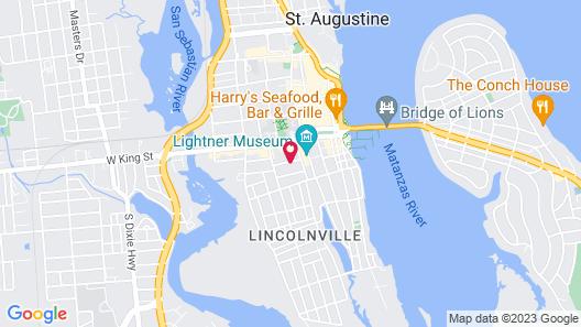 Penny Farthing Inn Map