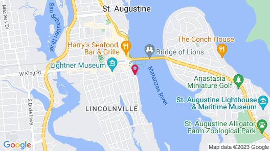 The Bayfront Inn Map