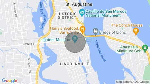 Old City House Inn and Restaurant Map