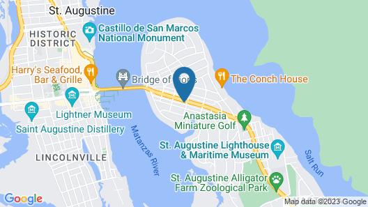 voco St. Augustine Historic Area, an IHG Hotel Map