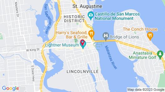 Casa Monica Resort & Spa, Autograph Collection Map