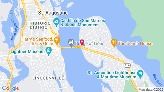 Edgewater Inn Map