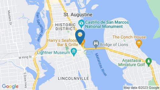 Pirate Haus Inn Map