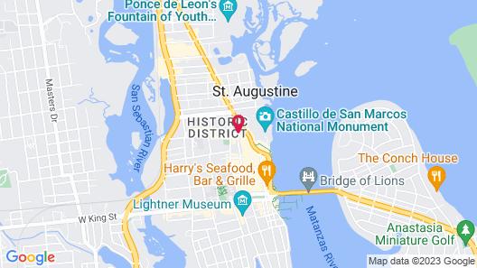 St George Inn Map