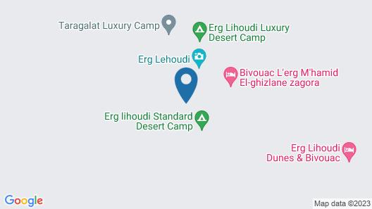 Sahara Peace Camp Map