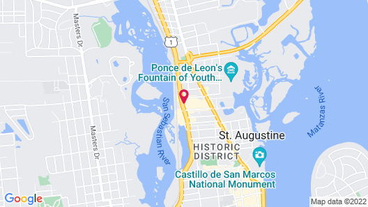 Holiday Inn St. Augustine - Historic, an IHG Hotel Map