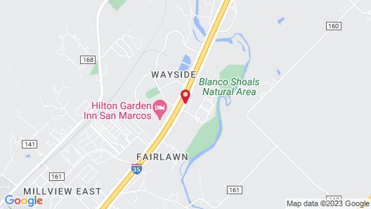 Studio 6 San Marcos, TX Map