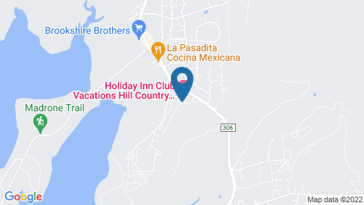 Holiday Inn Club Vacations Hill Country Resort, an IHG Hotel Map