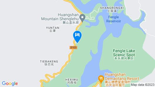 Huangshan Demaotang Hotel Map