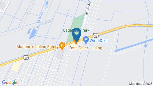 Studio 6 Luling, LA Map