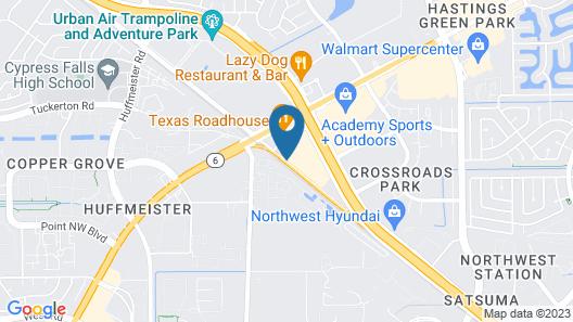 Hyatt Place Houston-Northwest / Cy-Fair Map