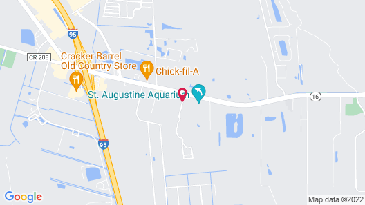 Courtyard by Marriott St Augustine I-95 Map