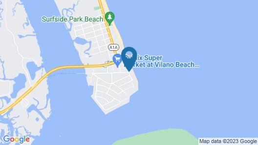 The Saint Augustine Beach House Map