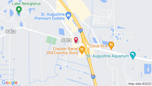 Best Western Plus St. Augustine I-95 Map