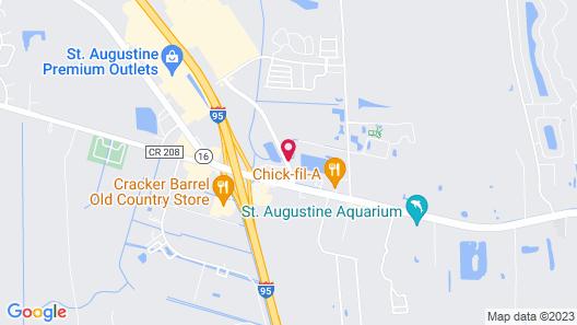 La Quinta Inn & Suites by Wyndham St. Augustine Map