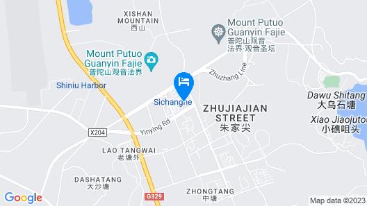 Green Alliance Hotel Zhoushan PuTuo District Map