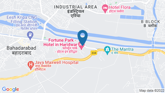 Fortune Park Haridwar-- Member ITC Hotel Group Map
